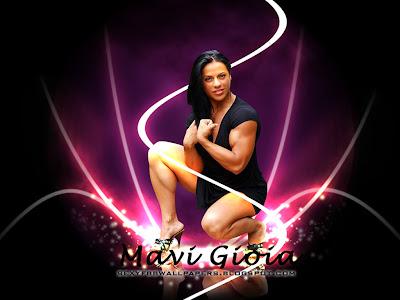 Italian Bodybuilder Mavi Gioia