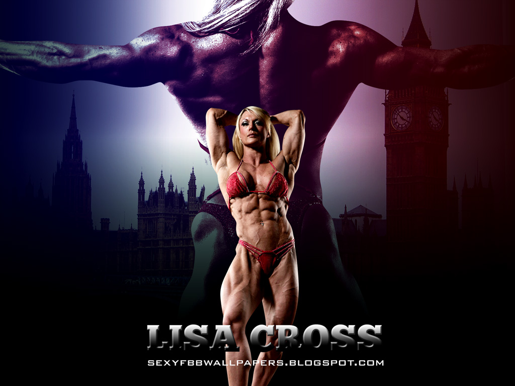 British Bodybuilder Lisa Cross Wallpaper