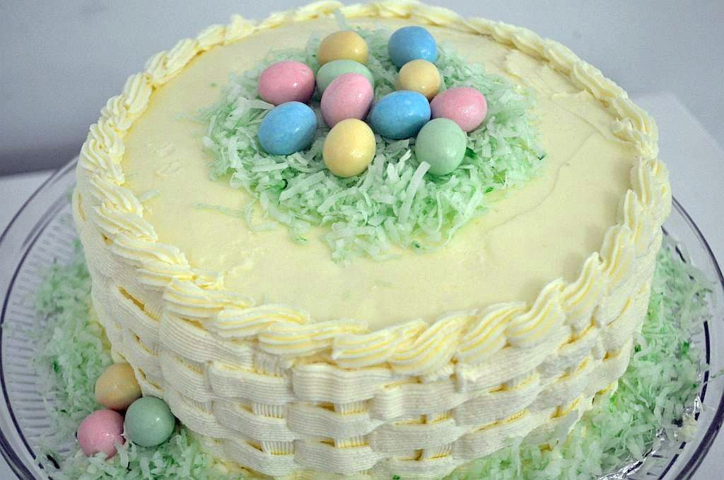 Easter Cake Designs Recipes : Crouching Mother, Hidden Toddler: Easter Cake