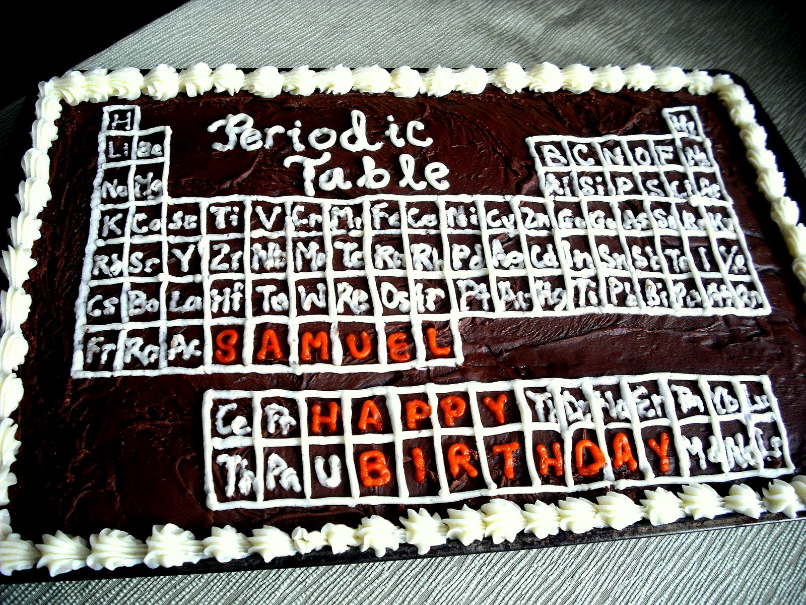 Julie ann events periodic table cake periodic table cake gamestrikefo Choice Image