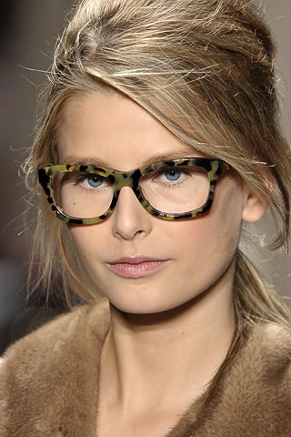 I have always been in love with Michael Kors reading glasses from his F/W