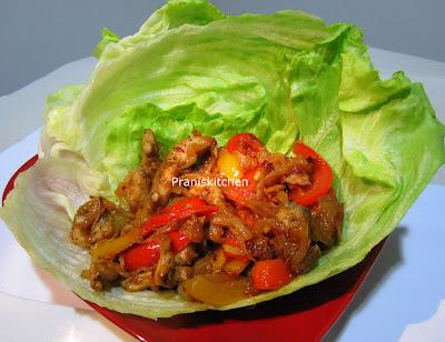 ... food lovers -Try it you 'll love it: Stir Fry Chicken Lettuce Wraps