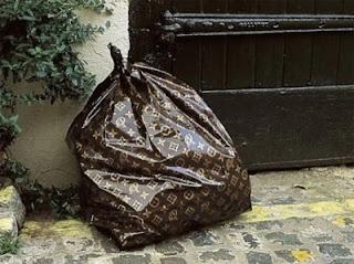 bolsa de basura louis vuitton