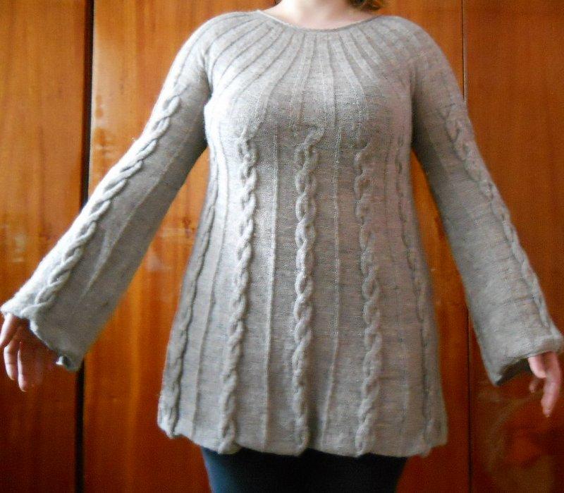 Modele de tricotaj manual - Rochii