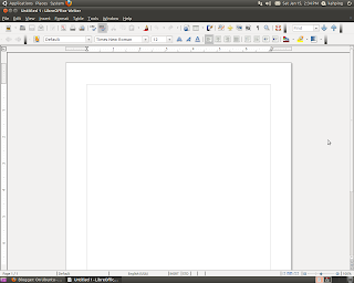 LibreOffice Writer main window