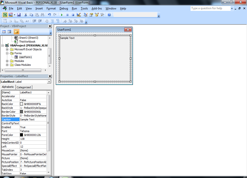 ... WorkSheet_Change event of the required sheet add the following event