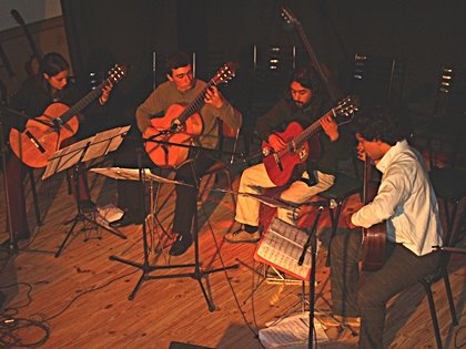 Ensamble de Guitarras en Guatraché