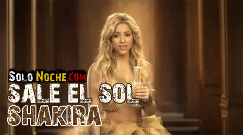 Well done Shakira! Although I know a 'your sun', the presentation via ...