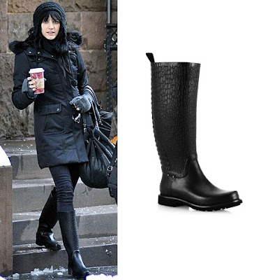 Where'd She Get It: Ashlee's Rain Boots | Viva Fashion Ashlee Simpson Shoes