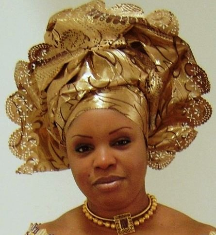 Sarah Crispin: February 2011 Traditional African Fashion Headdress
