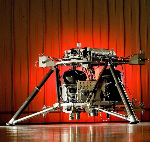 NASA's new lander prototype through integration and testing