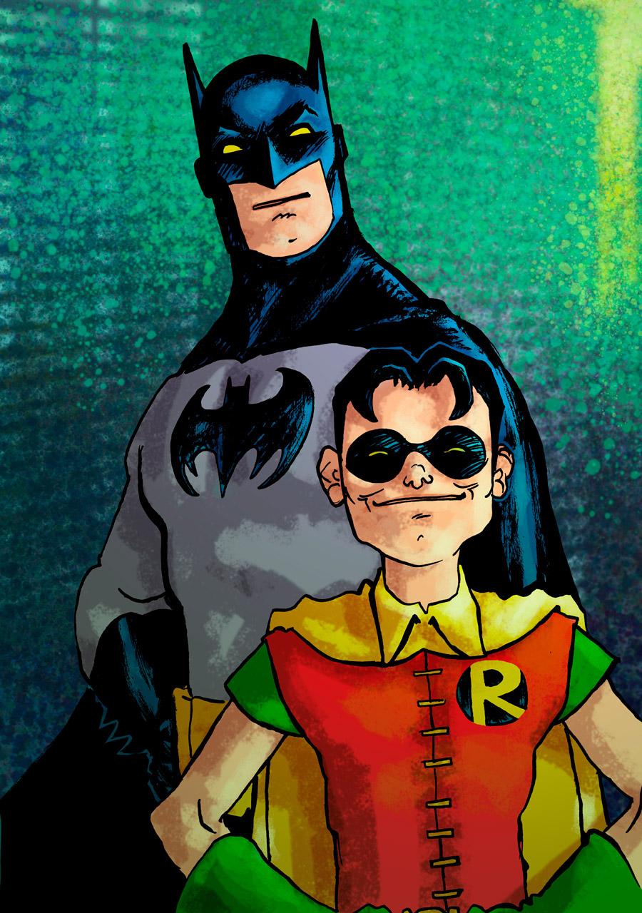 Laseraw 242nd batman robin - Image de batman et robin ...