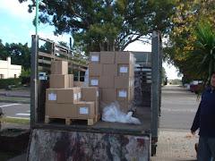 transporte de PRESSUR.... 2000 ejemplares llegando...