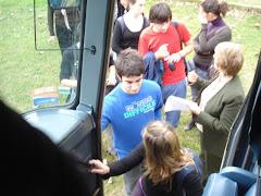 Bus transporte: CELFRA, control asistencia: Adscripta Gladys Schenck
