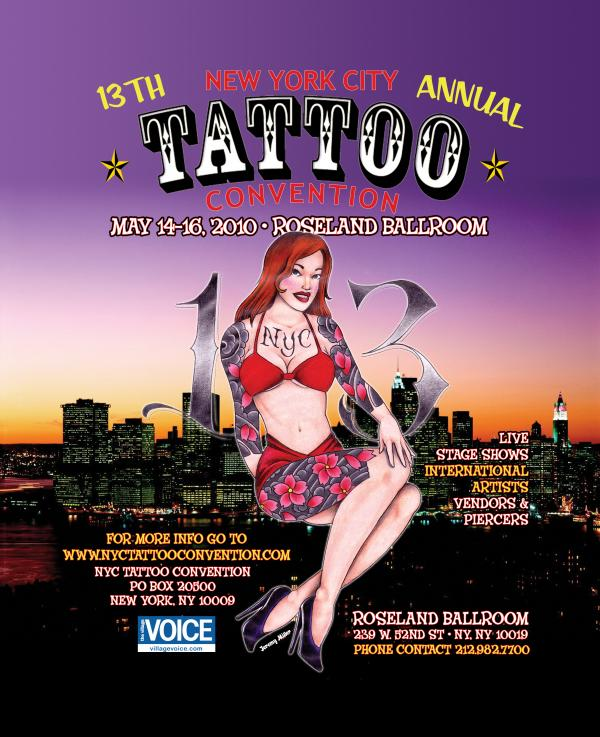 "We will be at the ""New York City Tattoo Convention"" covering the event!"