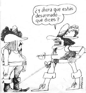 Primer chiste de Fontanarrosa en Clarín