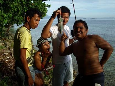 Mancing Cumi Pulau Condong