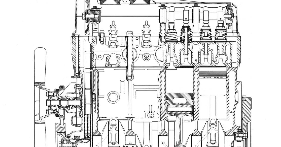 bedford cf2 van  gm diesel engine