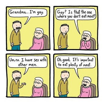 GRANDMA I'M GAY. Email ThisBlogThis!Share to TwitterShare to Facebook