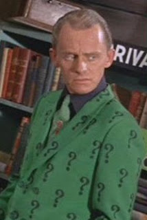 Gorshin is the Riddler