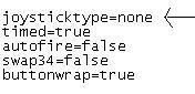 Joystick type