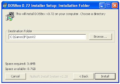 Installing Dosbox