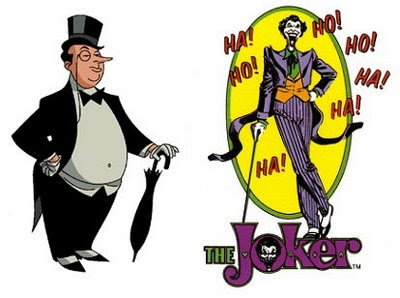 Penguin and the Joker image