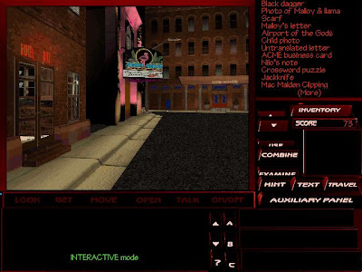 The Pandora Directive screenshot