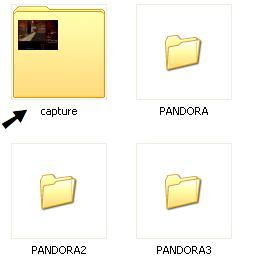 Image capture folder
