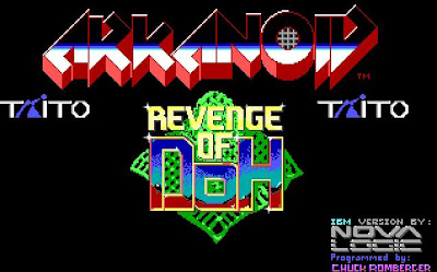 Arkanoid PC game screenshot