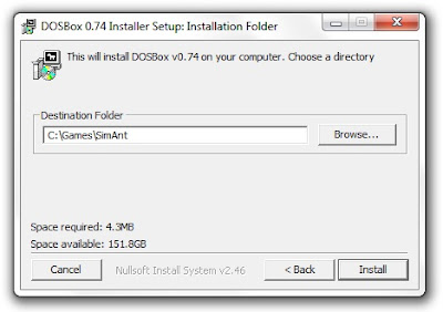 Installing Dosbox