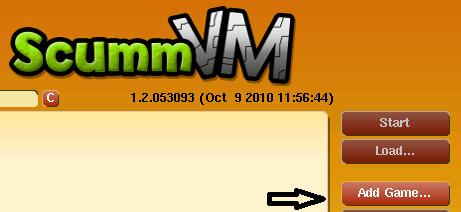 ScummVM add game