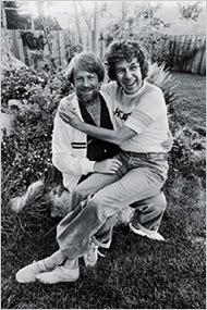 Brian Wilson Of The Beach Boys And Eugene Landy AKA Shrink To Stars