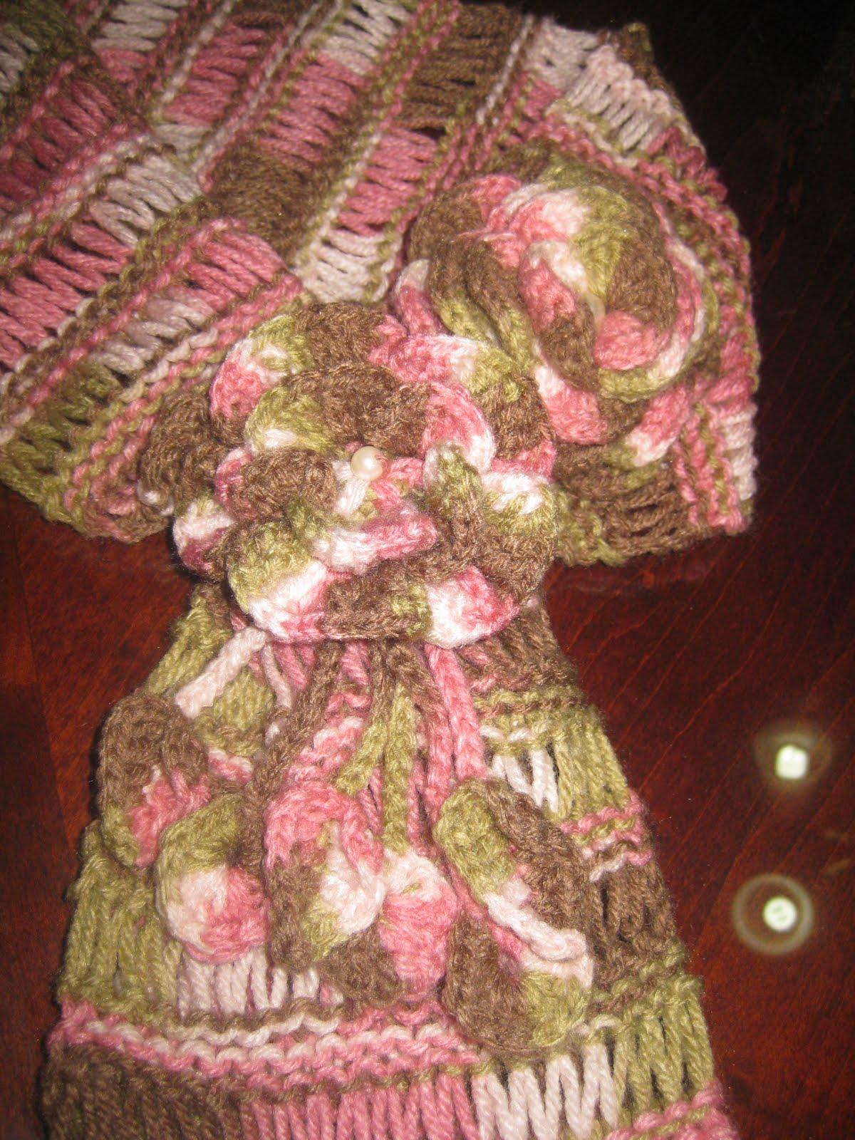 Anna Y Su Mundo Paso A Paso Para Tejer El Punto Caracol A Crochet ...