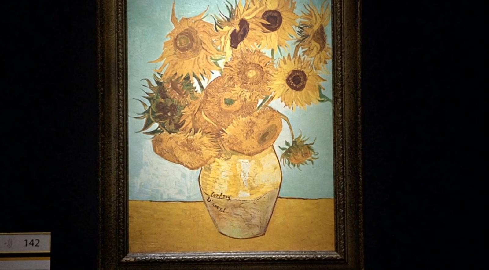 Vincent Van Gogh remembered Vincent Van Gogh Doctor Who Sunflowers