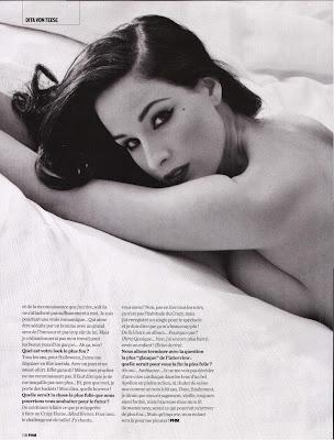 Dita Von Teese - FHM France Magazine - February 2009
