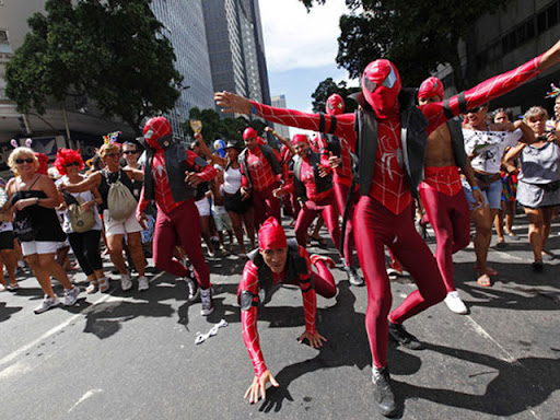 carnaval nerd bloco homem aranha