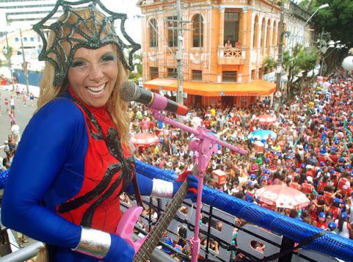 carnaval nerd mulher aranha carla perez