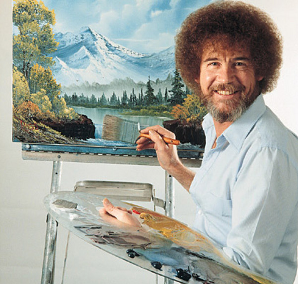 Tina's 40 Best Things About Being 40: #25 - Bob Ross ...
