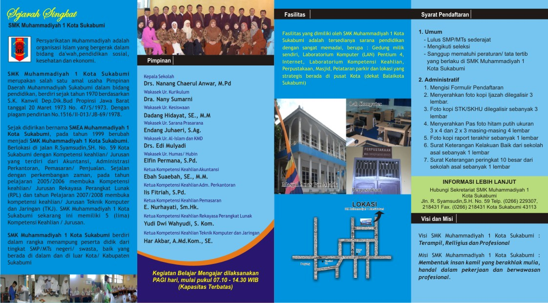 Sketsa Brosur Muhammadiyah 2011