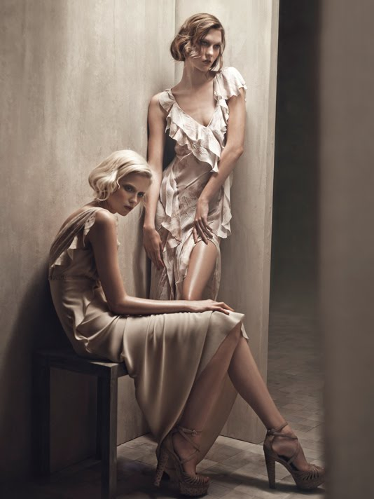 Abbey Lee Kershaw for Donna Karan Spring Summer 2011 by Patrick Demarchelier