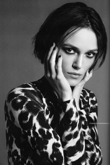 Keira Knightley Dares In Tom Ford For Elle UK
