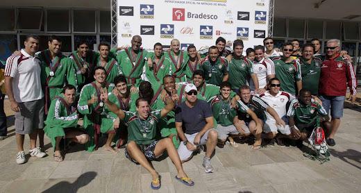 FLUMINENSE PENTA CAMPEÃO TROFÉU BRASIL 2010