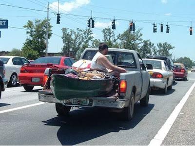 truck canoe