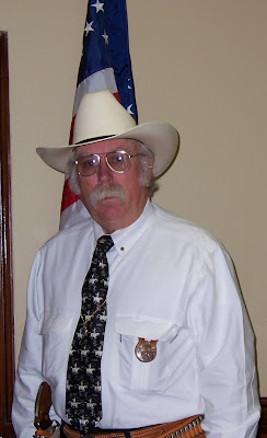 redneck sheriff white hat