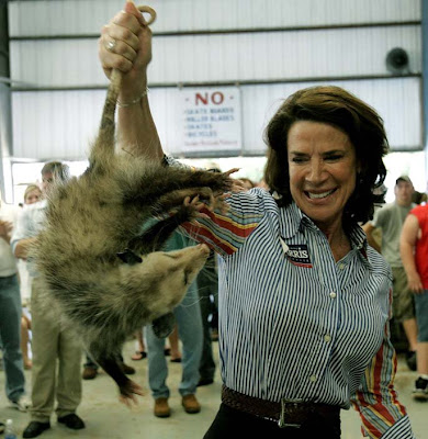 Katherine Harris and possum