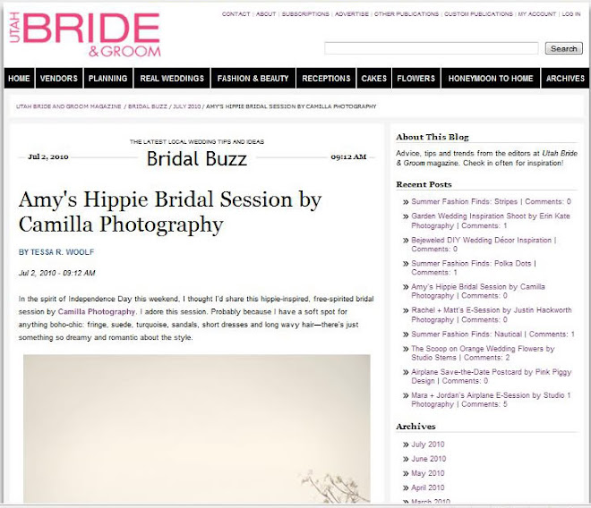 Featured in Utah Bride & Groom!