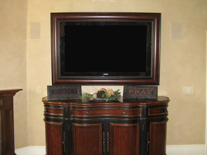 Flat Screen TV Frame