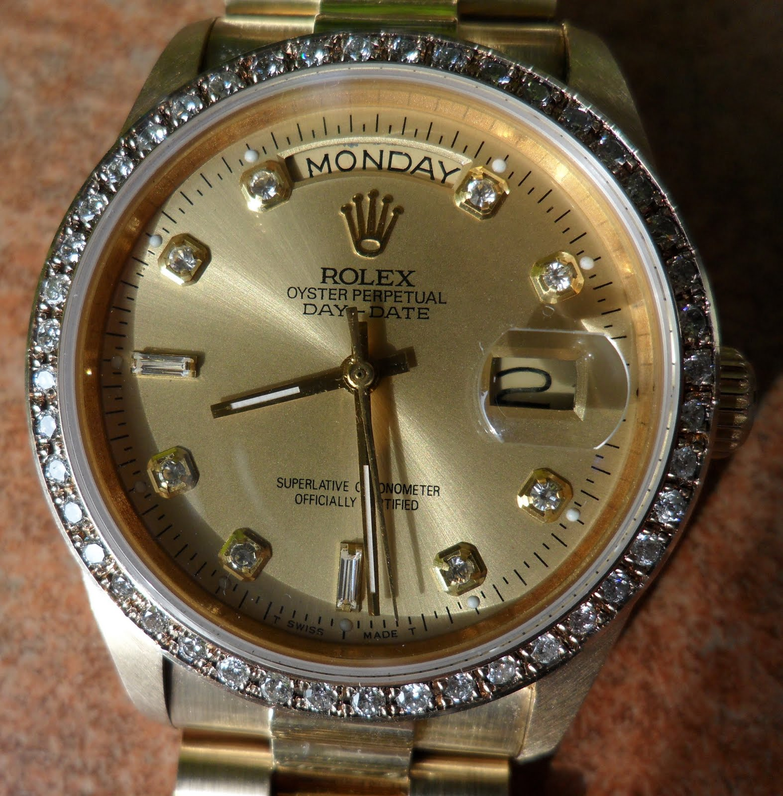 Jual Jam Rolex Gold Original Welcome To Tangan Pria Expedition 6631 Black Yellow Triple Time 18k Diamond Day Date Automatic