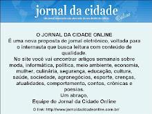 DIVULGUE O JORNAL DA CIDADE ONLINE